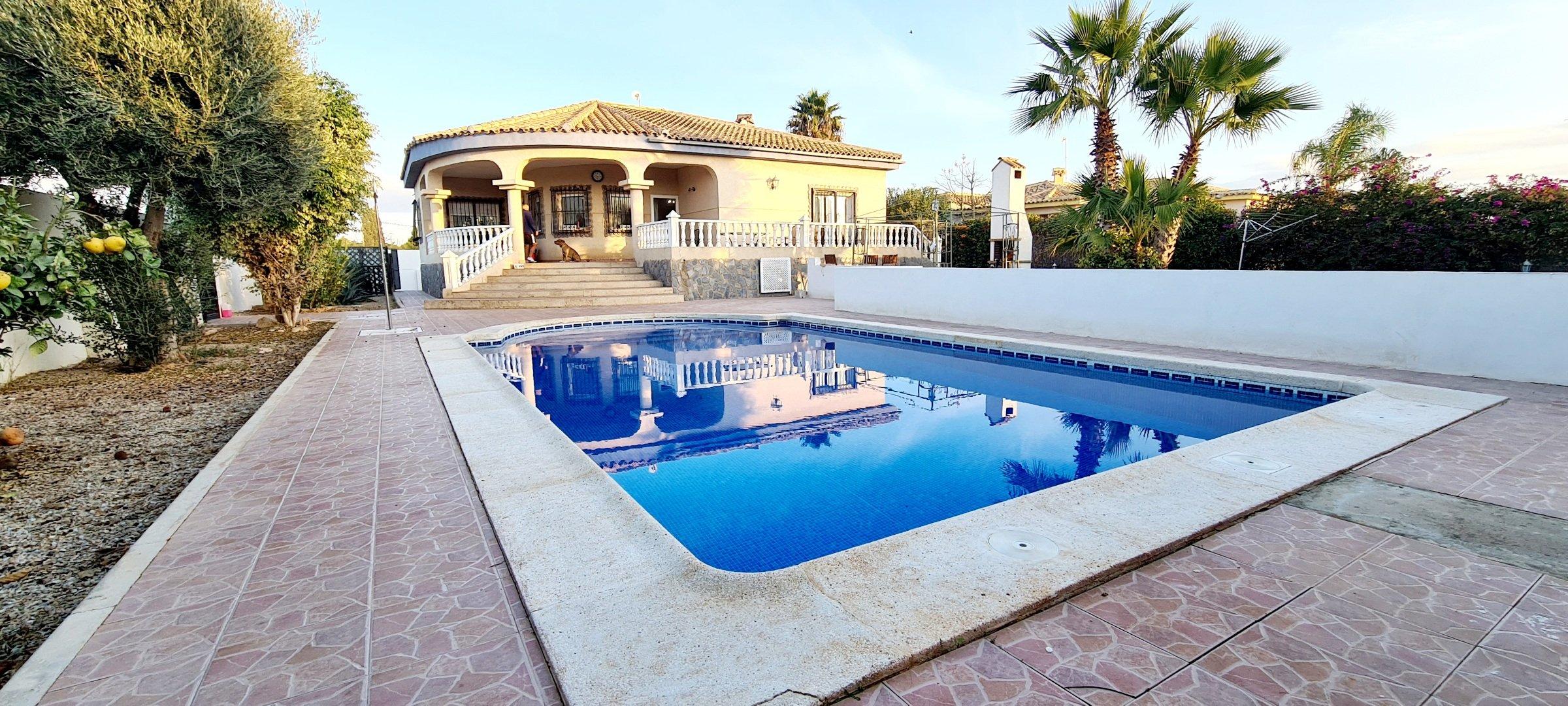 3 Bed 2 Bath Detached Villa with Private pool – Valle Del Sol – Murcia
