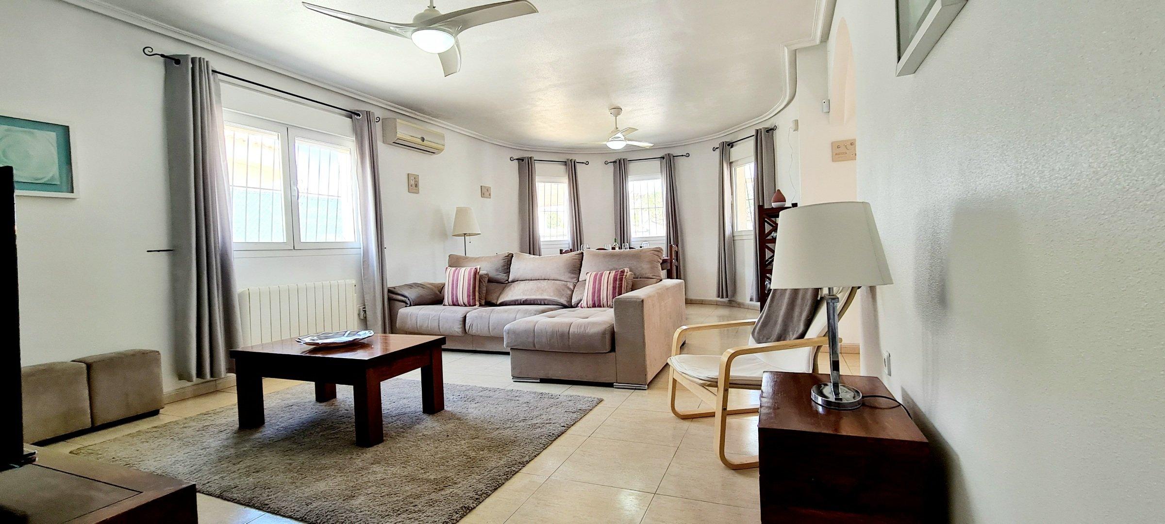 3 Bedroom 2 Bathroom Detached Villa – Lo Santiago – Murcia
