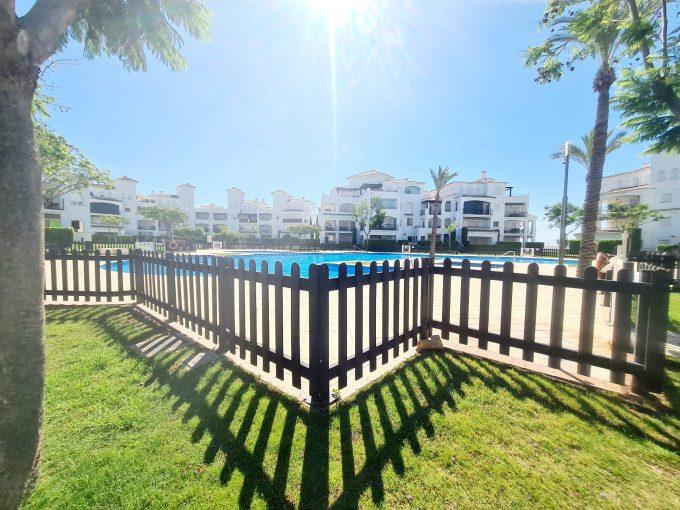 2 bed 1 bath front line ground floor apartment – La Torre Golf Resort – Murcia