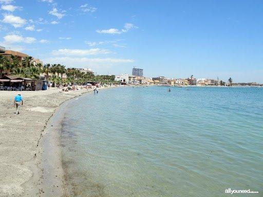 mar menor beach