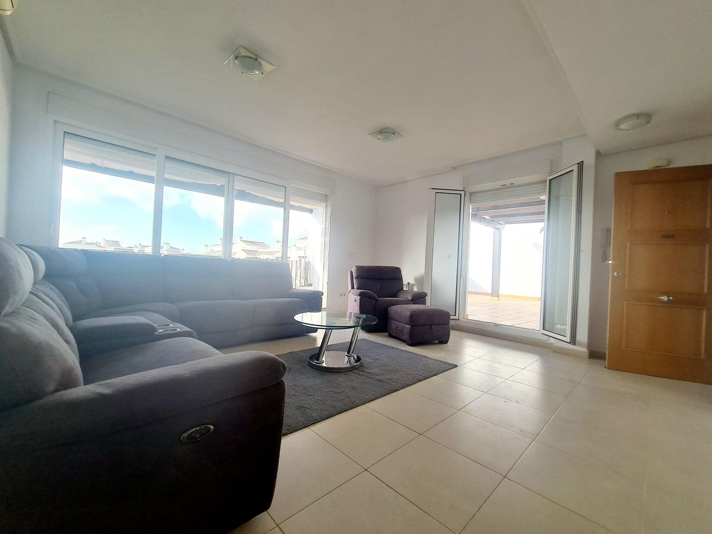 Penthouse Apartment for Sale La Torre Golf Resort – 2 Bed 1 Bath – Murcia