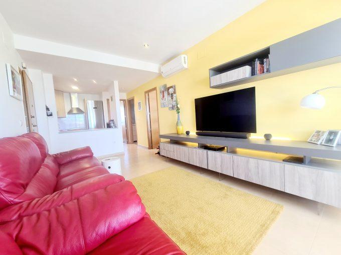 2 bed 1 bath South facing 1st floor apartment – Terrazas De La Torre Golf Resort – Murcia