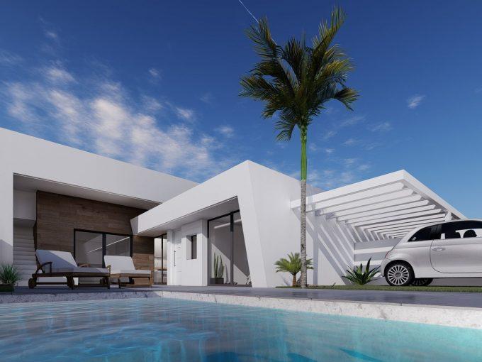 Modern New build Villas – Roldan – Murcia – From Just €174,950